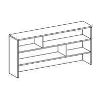 Надстройка для стола Н-9