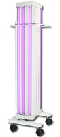 Облучатель бактерицидный передвижной открытого типа ОБНП 2(2х30-01) исполнение 2